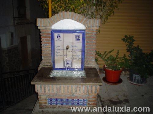Lorca y las fuentes de Lanjaron