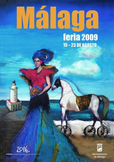 cartel de la Feria de Malaga 2009