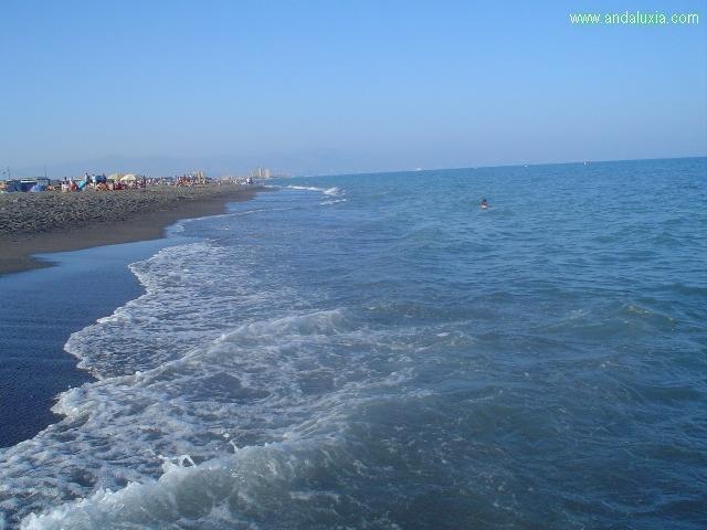 foto playa malaga