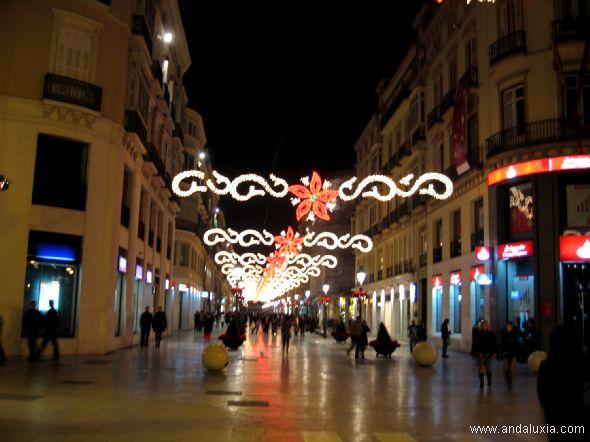 La calle Larios en Navidad 2006