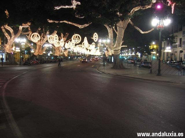 alumbrado navidad malaga